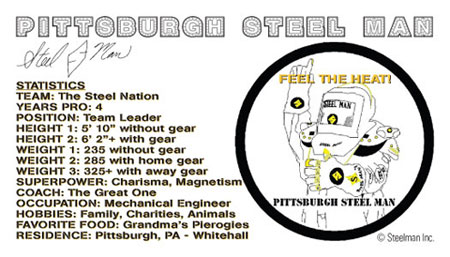 Pittsburgh Steel Man